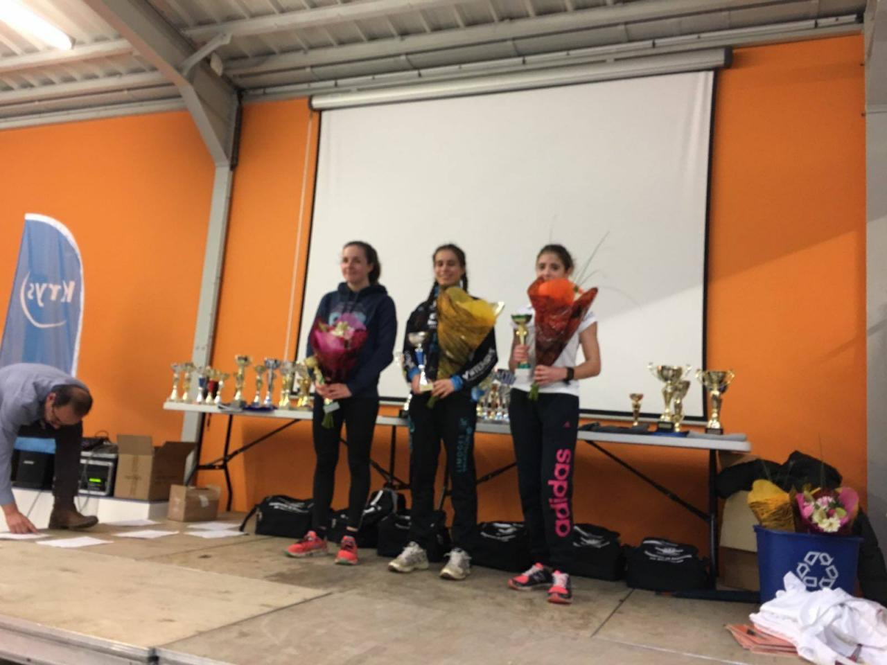 podium junior fille