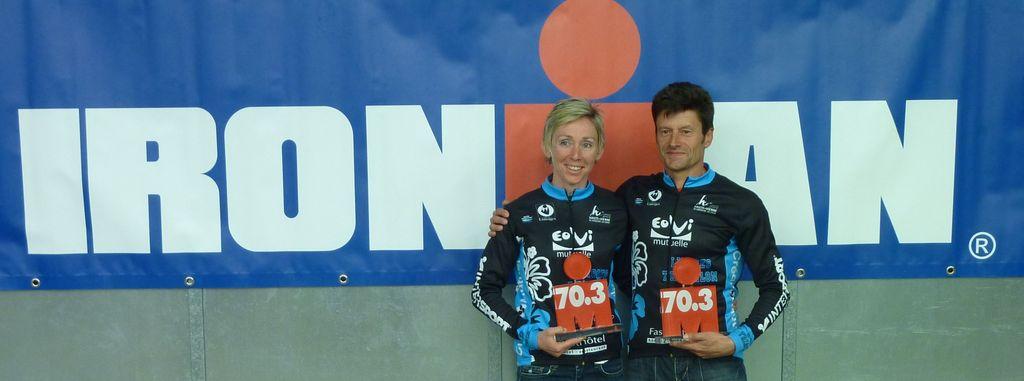 Deux podiums en catégories d'âge pour Nath et Will !
