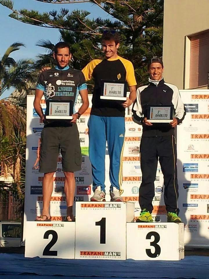 Trapani - Le podium