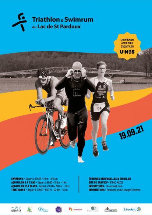 Web affiche triathlon st pardoux unss